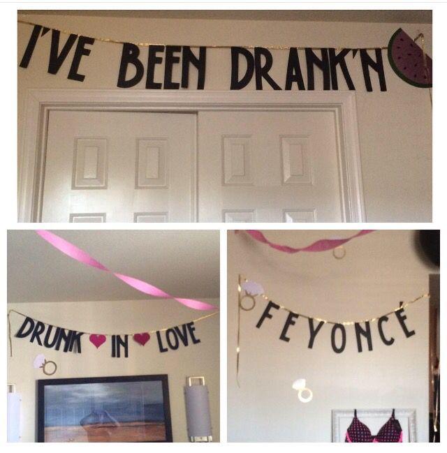 Beyoncé Bachelorette Party Theme