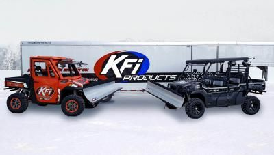 The KFI ATV plow system is engineered as a Mid-Mount System that transfers the forces from plowing to your ATV's frame where it belongs.