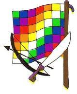 Significado de los colores de la Wiphala: Los colores se originan en el rayo solar al descomponerse del areo iris blanco (kutukutu), en s...