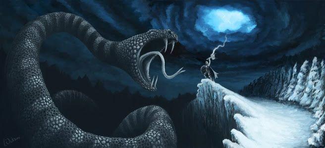 La Aterradora Serpiente Marina De Madagascar