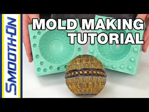 Mold Making Tutorial: How To Make a 2 Piece Silicone Rubber Mold