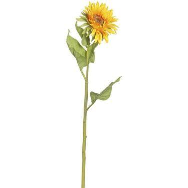 Single Sunflower Yellow 66 cm