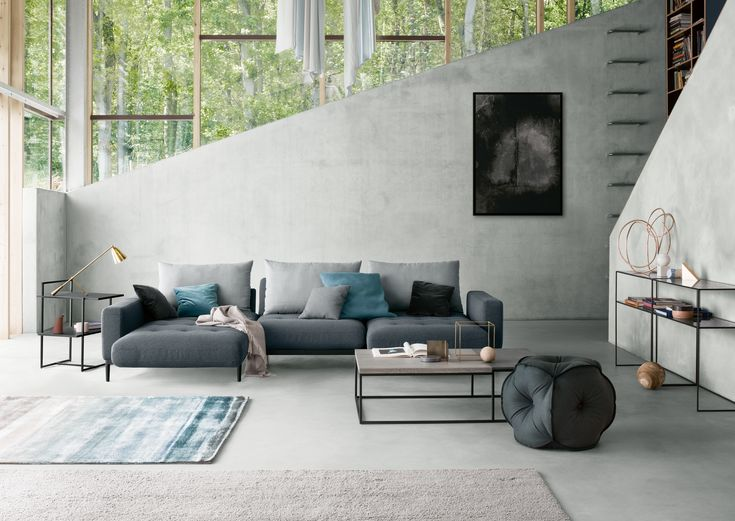 Studio Anise // Rolf Benz Tira Sofa #modern #furniture #couch #sectional