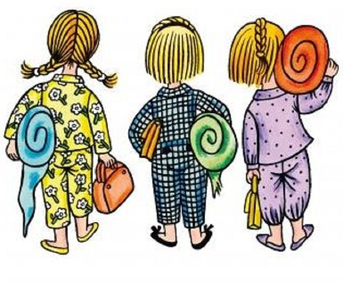 Illustration Helena Zmatlíková  . Děti z Bullerbynu