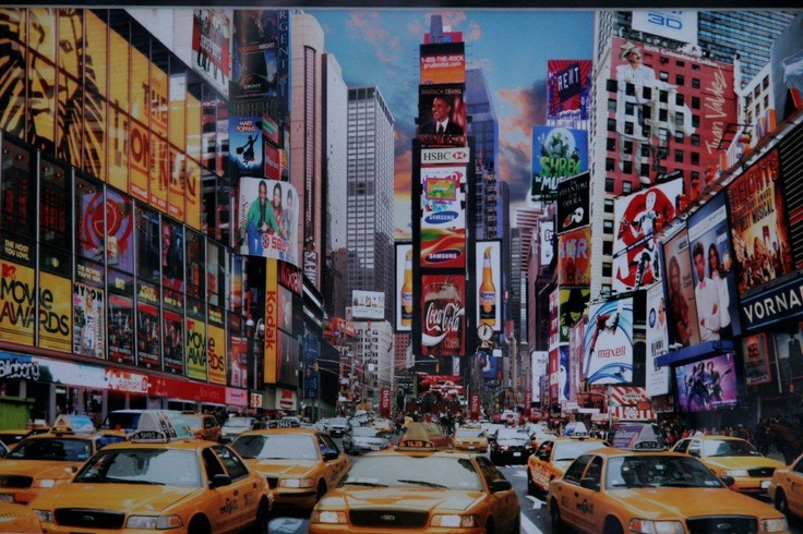 Time Square - you just have to be there !  by Toni deKort