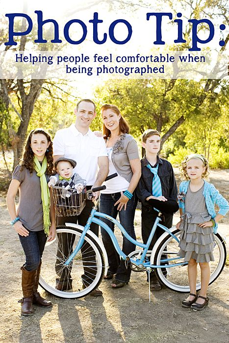 Tips for helping people feel comfortable at photo sessions KristenDukePhotography.com #portrait How To #photography #professional
