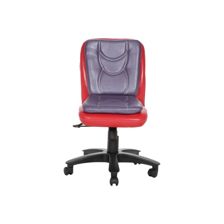 """THE LIBRANEJAR LB WORKSTAION CHAIR RED AND PURPLE""  http://www.vjinterior.co.in/product-category/office-furniture/  Office Furniture Online, Modular Office Furniture Chairs Manufacturers and Supplier Delhi 
