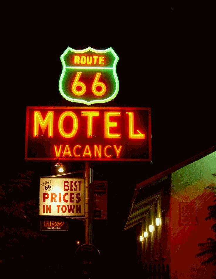 "Old Roadside Motels | Historic Route 66 Motels make the ""11 Most Endangered Places 2007″"