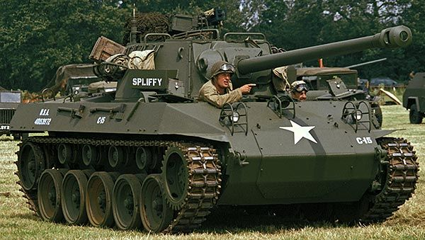 M18 tank destroyer - Hellcat