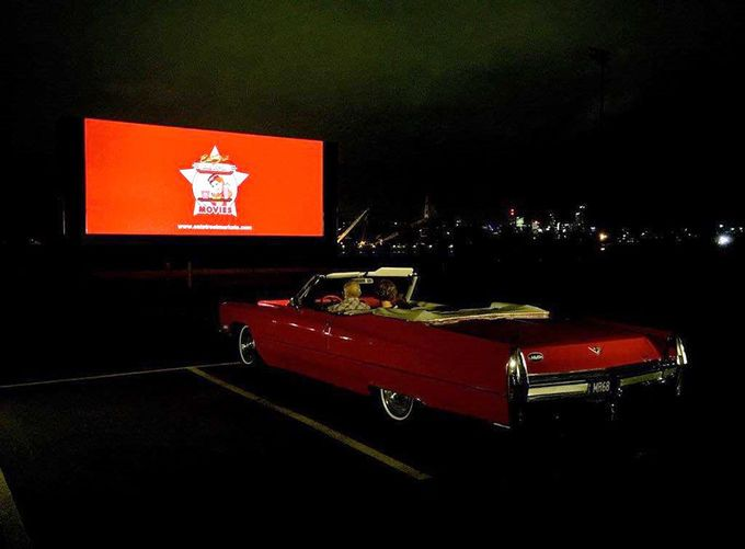 Eat Street Pop Up Drive In and Outdoor Cinema