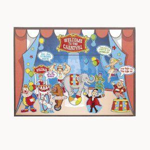 Amazon.com: Circus MakeASticker Scenes (1 dz): Toys & Games