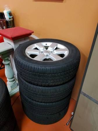 20″ Rims and Goodyear Tires (Fits a ton of trucks!)
