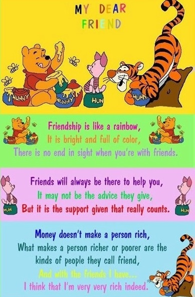 Quotes About Friendship Winnie The Pooh Interesting 92 Best Pooh Images On Pinterest  Pooh Bear Eeyore And Tigger