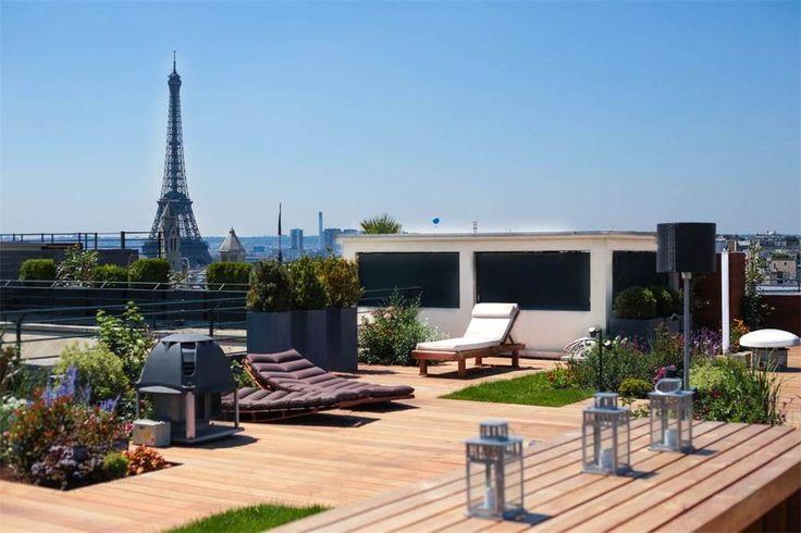 for Sale at A 302 sq.m Penthouse for sale, Eiffel Tower view Paris 8 - Champs Elysées Paris, Ile-De-France 75008 France