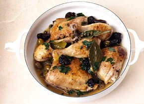 braised chicken with prunes, olives, and capers | paleo/low carb ...