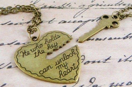 Little Gift, Romances, Keys, Amazing Quotes, Locks, My Heart, Cute Necklaces, Wedding Rings, Love Letters