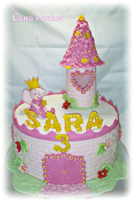 Peppapig cake  www.lanaskaker.123hjemmeside.no