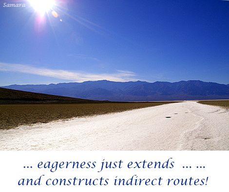 .. #eagerness just extends  ... ... and constructs indirect routes!