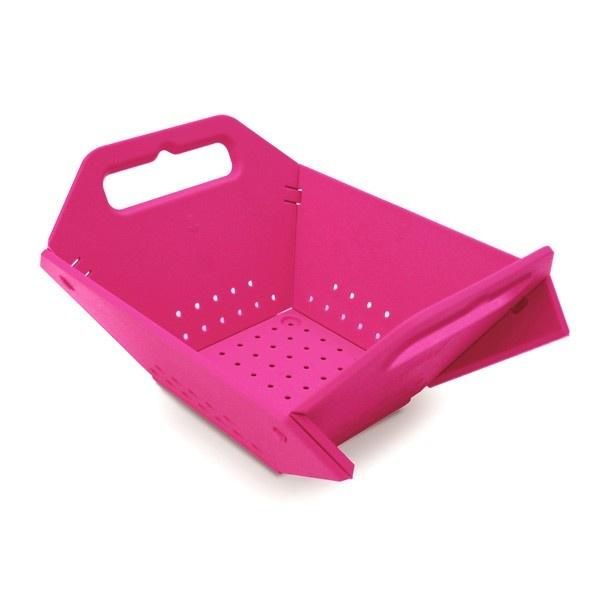 Folding Colander - Pink - Kitchen & Dining - Home & Office - Yanko Design