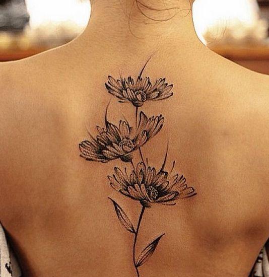 22 Daisy Tattoos