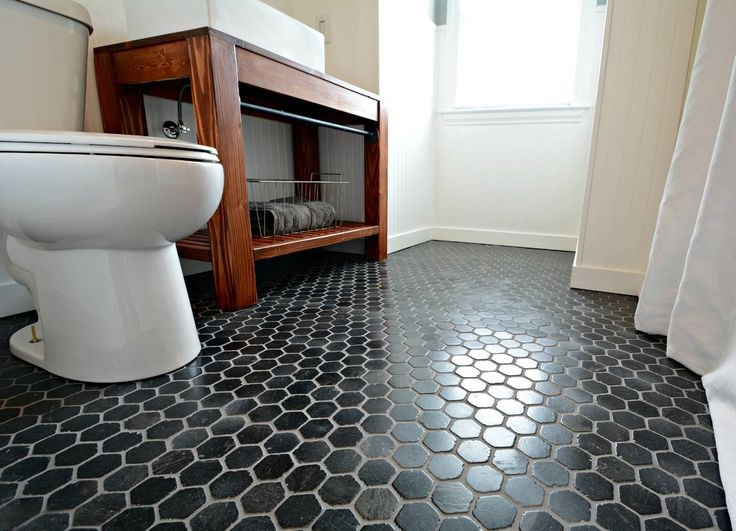 Best 25+ Black Hexagon Tile Ideas On Pinterest | Bathroom Renos, Black  Grout And White Tiles Black Grout Part 61