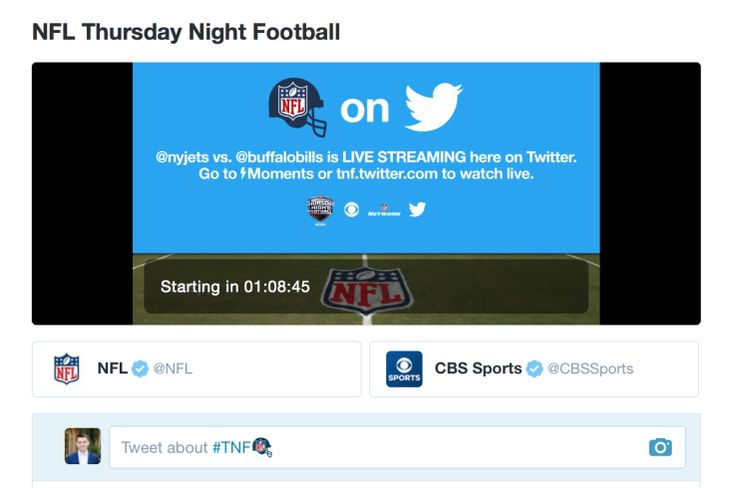 Here's how to watch Thursday Night Football on Twitter tonight  Twitter's big day is finally here. Tonight is the first night of NFL's Thursday Night Football, which will be streamed all season on Twitter (as well as CBS and NFL Network as cable partners)... #ThursdayNightFootball http://www.jvzoolaunch.com/heres-watch-thursday-night-football-twitter-tonight/