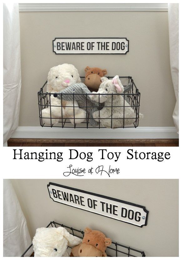 Hanging Dog Toy Storage Dog Storage Dog Toy Storage Diy Toy
