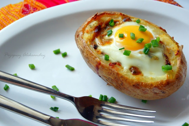 My favorite cooking site-it has a translator and the recipes are easy to do. This potato dish will rock your world    Przepisy Aleksandry: IDAHO SUNRISE (English & Polish)