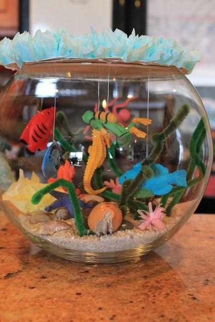 marine biome out of a shoebox | Pencils & Glue, Play ...