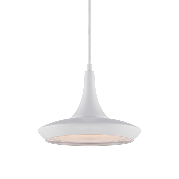 Lighten things up with this playful, modern pendant lamp. In the day, it brightens your style in your choice of seven bold colors. At night, keep the party going under its energy-efficient LED bulb.  Find the Genio Pendant Lamp, as seen in the Make it Your Own Mid-Century Collection at http://dotandbo.com/collections/make-it-your-own-mid-century?utm_source=pinterest&utm_medium=organic&db_sku=104366