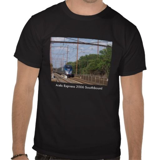 Amtrak Acela Express 2006 Southbound from NYC Shirt The