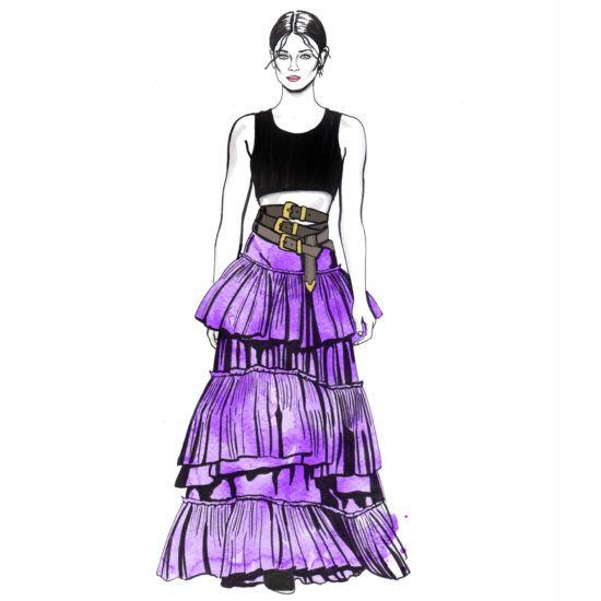 #fashion #illustration #fashionillustration