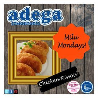 Milu Monday! - Our Famous Chicken Rissois Recipe