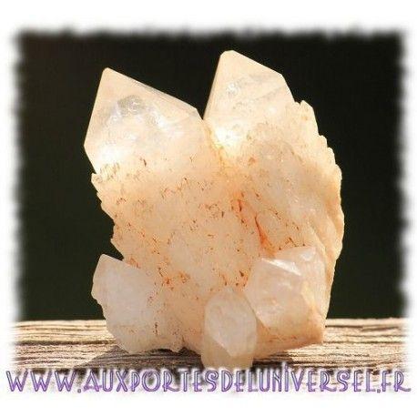 Druse de quartz bougie élestial sur la boutique ésotérique en ligne Aux Portes de l'Universel