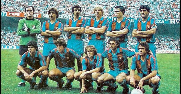 BARCELONA 1981-82 Campeón de la Recopa