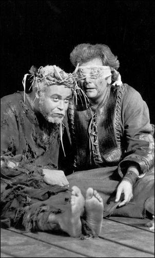 James Earl Jones and Paul Sorvino in <i>King Lear</i>, 1973