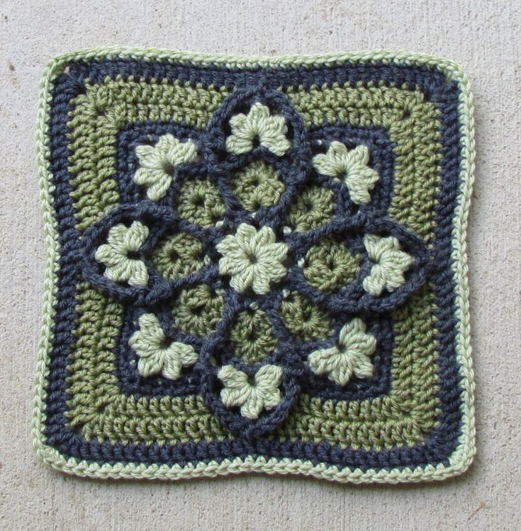 17 Best Images About Stained Glass Crochet Afghans On