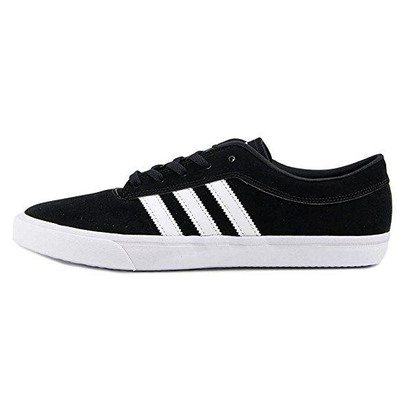 Amazon | (アディダス) Adidas Sellwood メンズ 米国 9 ブラック スケートシューズ [並行輸入品] | adidas(アディダス) | スニーカー