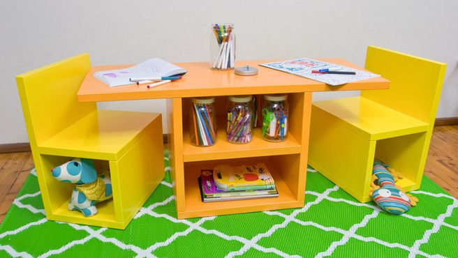 How to make a kid s table and chairs set