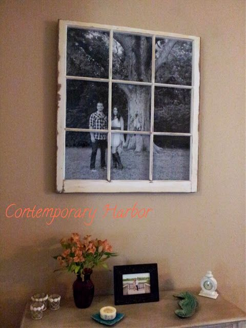 contemporary harbor window pane picture frame - Windowpane Picture Frame