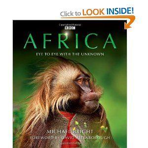Africa Hardcover Book David Attenborough