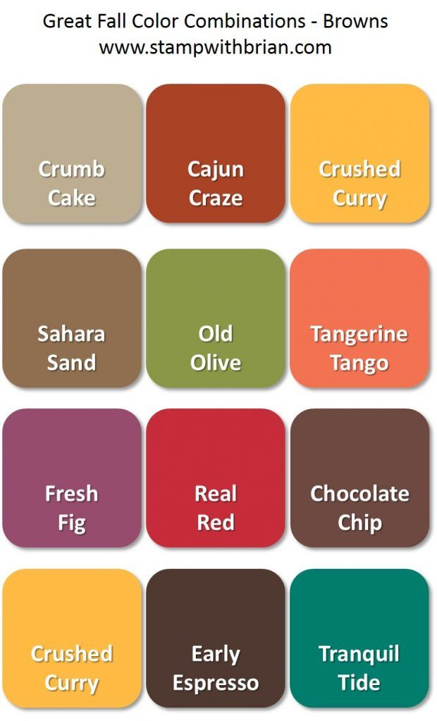 The 262 Best Stampin Up Color Inspirations Images On Pinterest