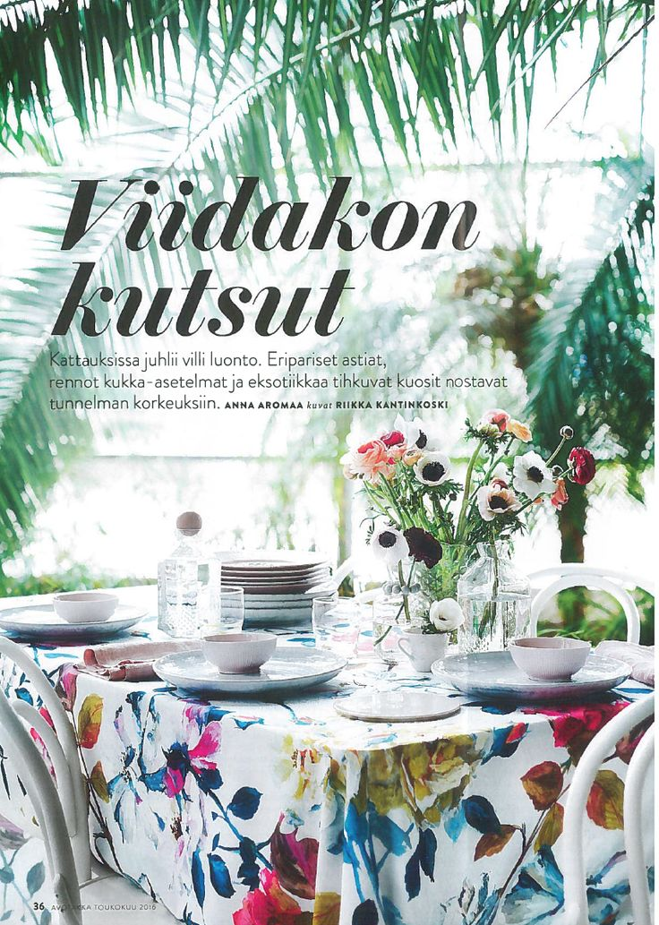 our fabric can be used not just for windows as seen in avotakka finland tricia