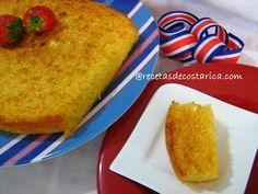 Cocina Costarricense: pan de yuca (dulce)