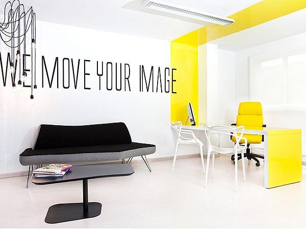 Lexington avenue agency masque spacio for Woodworks design office 9