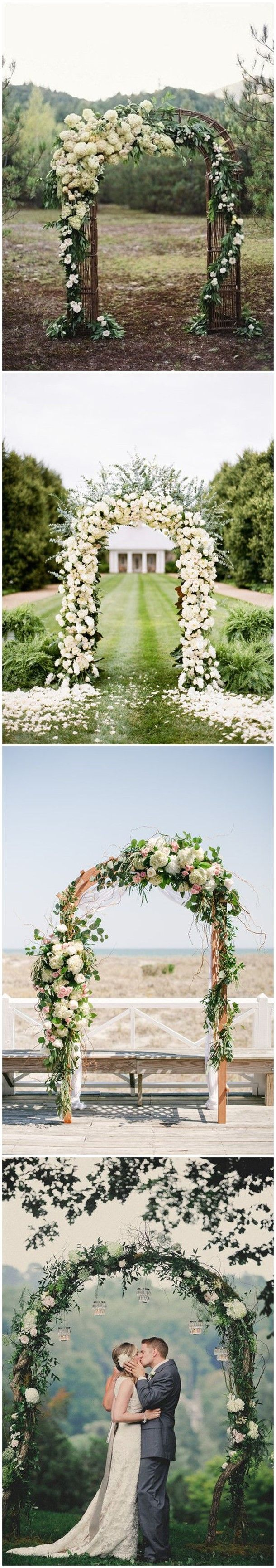 17 Best ideas about Wedding Arch Decorations on Pinterest