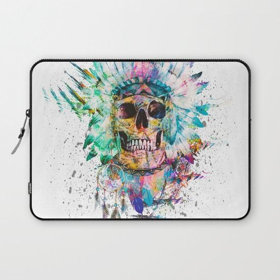 Buy SKULL - WILD SPRIT by RIZA PEKER as a high quality Laptop Sleeve. Worldwide shipping available at Society6.com. Just one of millions of products available.