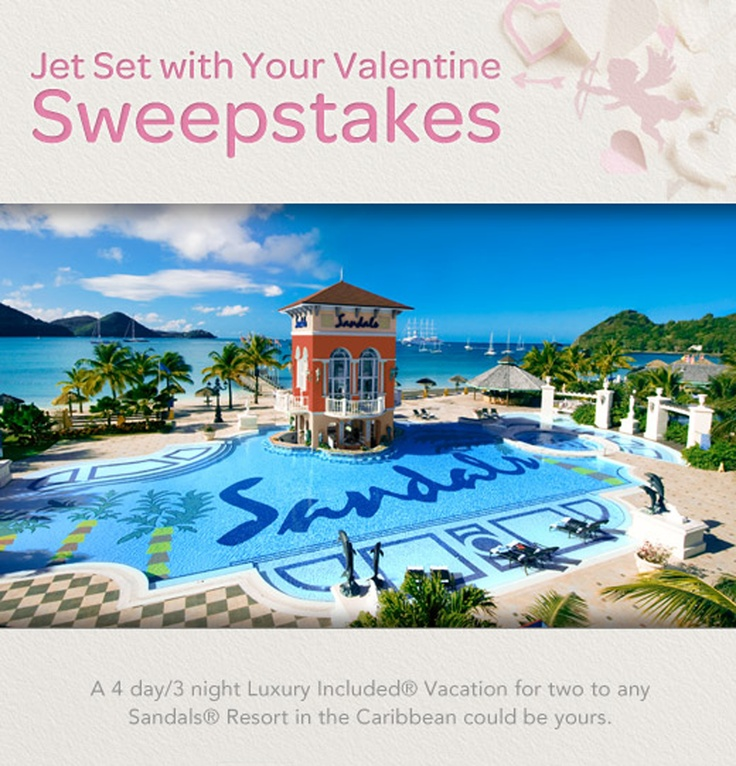 Enter our Jet Set with Your Valentine sweepstakes for a chance to win trip for two to any Sandals Resort in the Caribbean + Valentine's Day goodies from Tiny Prints!: Lucian Spa, Sandals Resorts St. Lucia, Beach Resorts, Favorite Places, Beaches Resorts, Grand St., Travel, Honeymoons, Sandals Grand