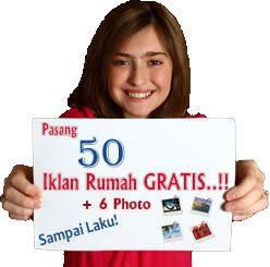 Pasang iklan rumah gratis bergambar, 6 Photo, tampil selamanya atau sampai laku di http://www.rumahcitra.com