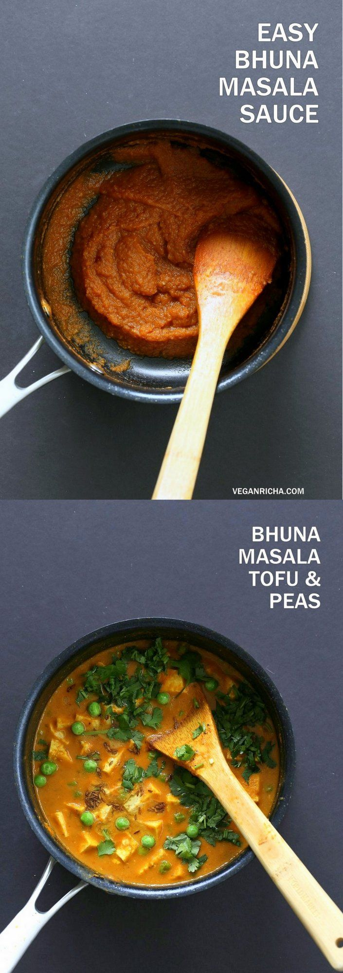 Vegan Bhuna Masala - KK Good but thought it wasn't flavorful enough. I'd add twice as much paste per volume of dairy substitute. Probably also add an extra hot pepper and more spices